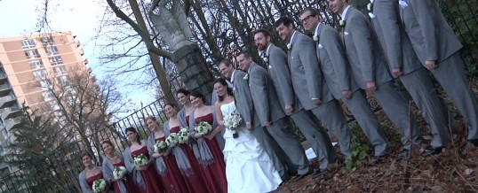 Holly & Brian's December Wedding at Mendenhall