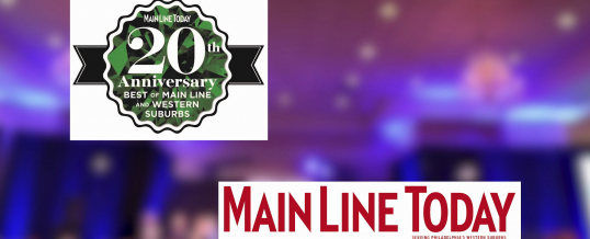 Main Line Today 2016 Best of the Main Line Party