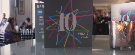 IBA 10th Anniversary Dinner