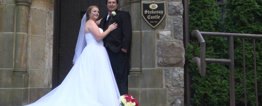 Tracy & Sean's Wedding at Stokesay Castle