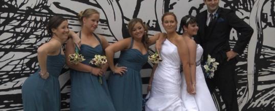 Lauren & Melissa's Wedding at the Franklin Institute