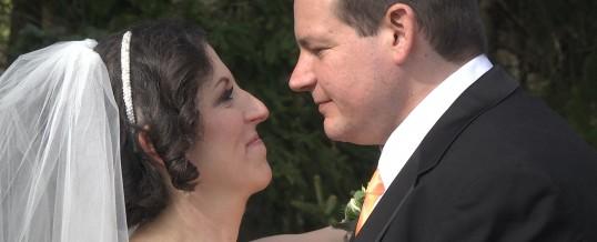 Stephanie & Matt's Wedding at Stokesay Castle