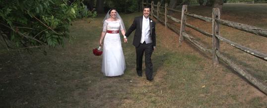 Mary and Antonio's Wedding at John James Audubon Center