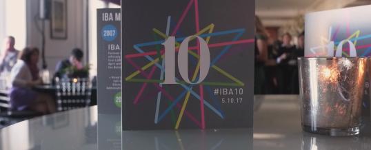 IBA 10th Anniversary Dinner