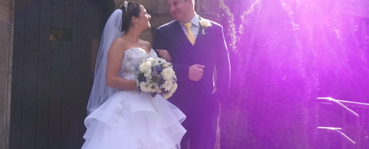 Katelynn & Bryan's Wedding at Stokesay Castle